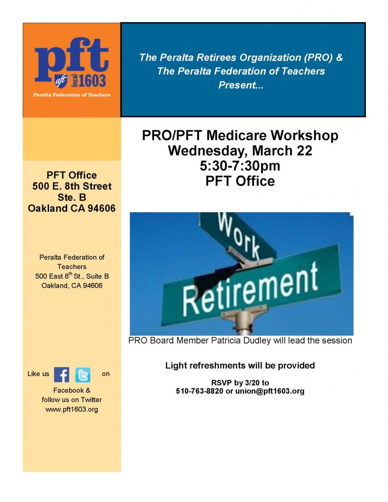 retirement Workshop 3-22-17